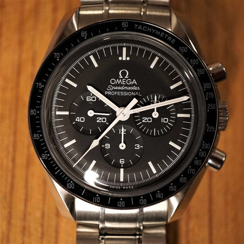 "SOLD- 2018 Omega Speedmaster ""Moonwatch"" Complete set"