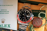 SOLD- 1998 Rolex GMTII 16710 Coke
