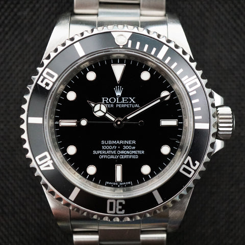 SOLD- 2009 Rolex Submariner 14060M Complete