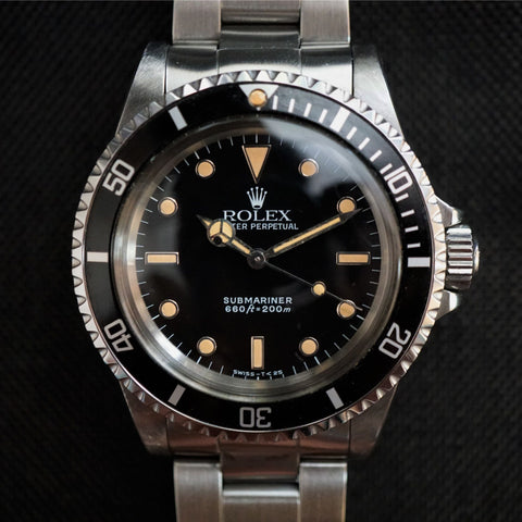 SOLD- 1987 Rolex Submariner 5513