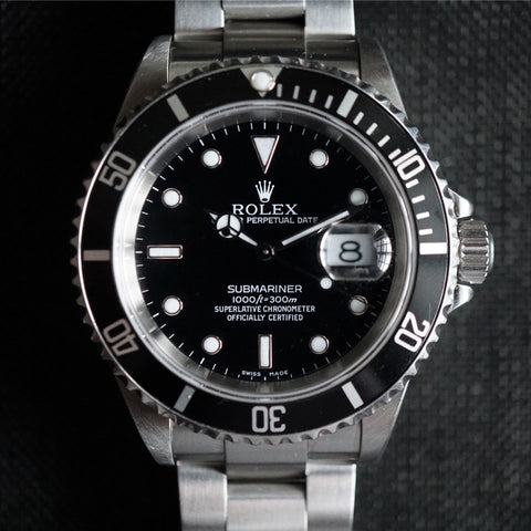 SOLD- 1999 Rolex Submariner 16610