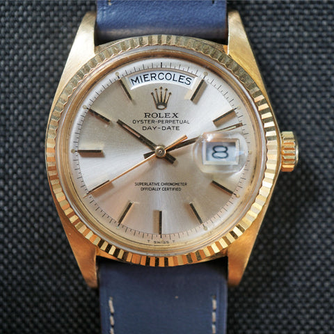 SOLD- 1978 Rolex Day Date 1803 Silver Dial