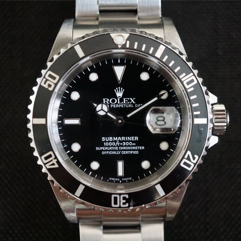 SOLD- 2001 Rolex Submariner 16610