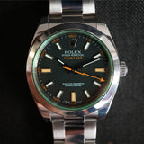 SOLD- 2008 Rolex Milgauss 116400V Box and Papers