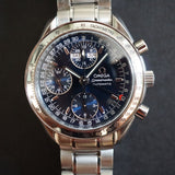 SOLD- 2006 Omega Speedmaster Triple Date 35238000 Complete Set