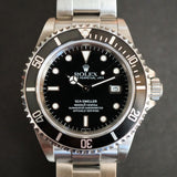 SOLD- 1999 Rolex Sea Dweller Swiss only Dial Box and Papers/RSC serviced