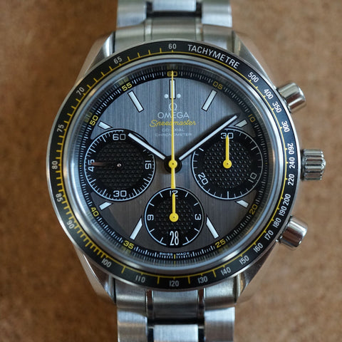 2011 Omega Speedmaster Racing Co-Axial Grey Dial 40mm