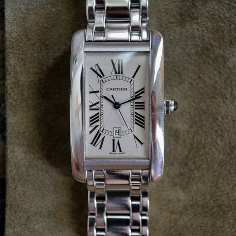 2002 Cartier Tank Americaine XL Solid Gold
