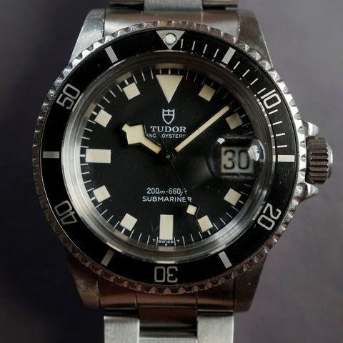 1979 Tudor Submariner 94110 Snowflake with Service card