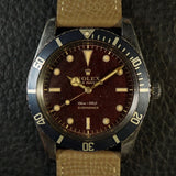"SOLD-1958 Rolex Submariner 5508 Gilt ""Tropical Dial"""