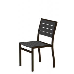 Euro Dining Chair BRONZE TEXTURED Frame