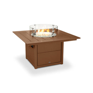 "Polywood 42"" Square Fire Table"