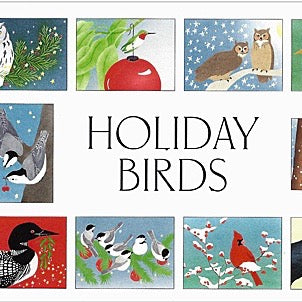 Boxed Cards - Holiday Birds