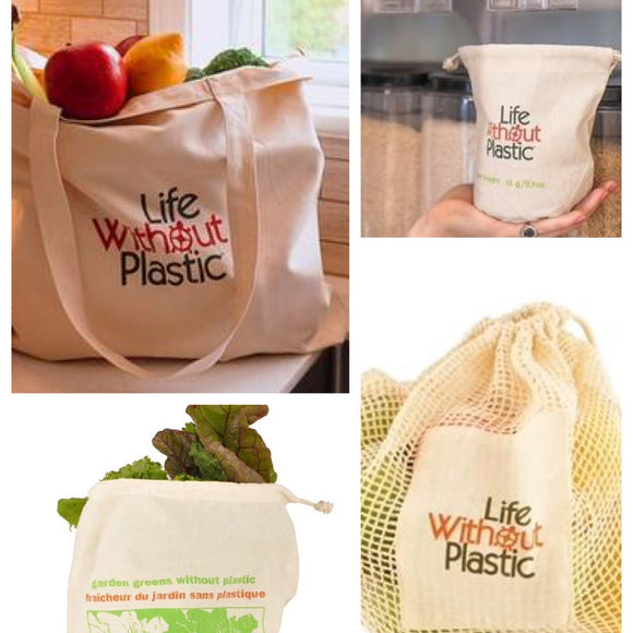 Plastic Free 7pc Grocery Set