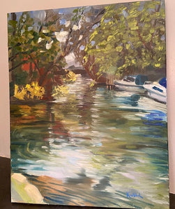 Up the Lazy River 16x20