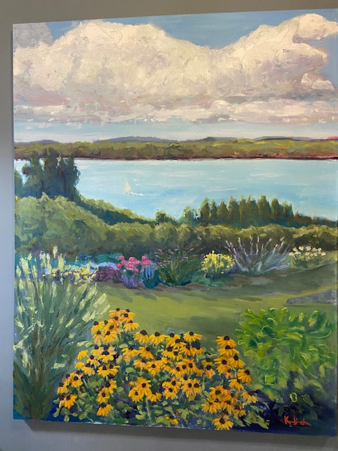 Old Mission Garden View 4'x5'