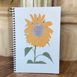 Sunflower Blank Journal