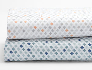 Percale Sheets- Diamond Print