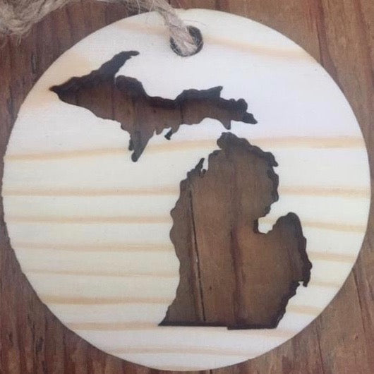 Up North Ornaments from Scrap Wood