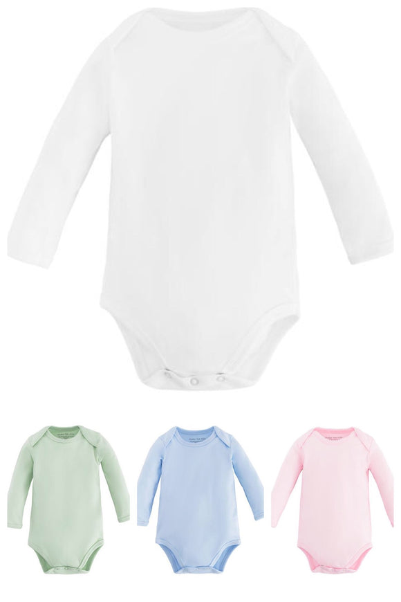 Infant Essentials - Long Sleeved Baby Body