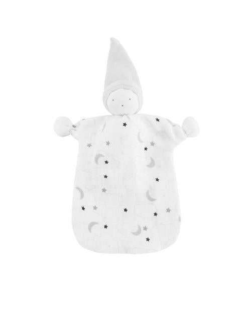 Organic Muslin Starry Sleeping Doll