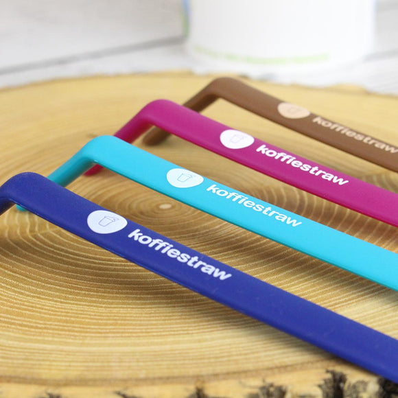 Koffie Straw - Perfect for sipping your hot bev!