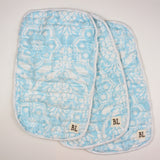 Organic Muslin Burp Cloths and Bibs (3 pack)