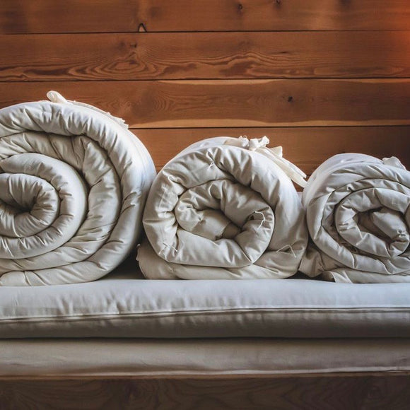 Wool Comforters - THREE Weights