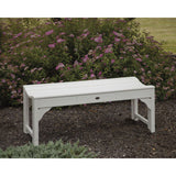 "Traditional Garden 48"" Backless Bench (BAB148)"