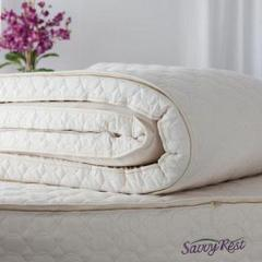 "Savvy Rest ""Harmony"" Talalay Latex Topper"