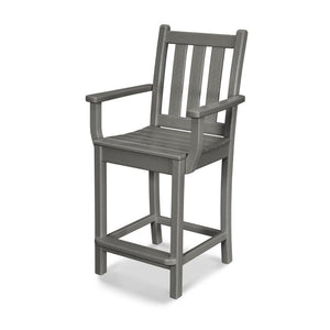 Traditional Garden Counter Chair w/Arms or Armless (TGD101/201)