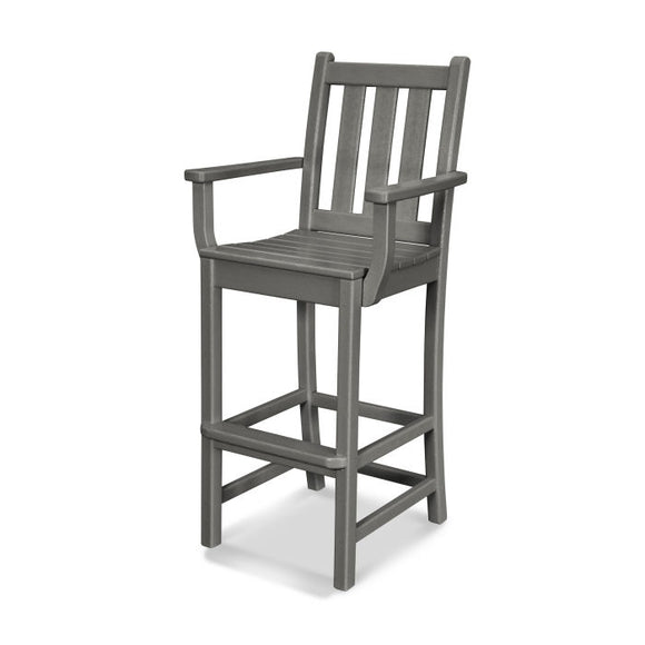 Traditional Garden Bar Chair w/Arms or Armless(TGD202/102)