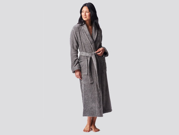 Unisex Organic Cloud Loom Robe