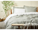 Organic Relaxed Linen Duvet Covers/Shams