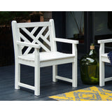 Chippendale Garden Arm Chair (CDB24)