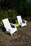 4 Slat Tall Adirondack (Flat top)