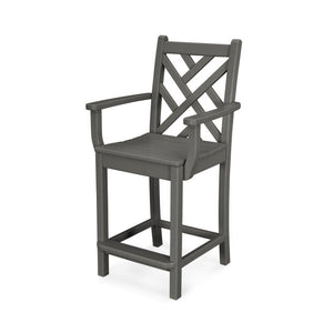 Chippendale Counter Chair Armless or w/Arms (CDD101/201)