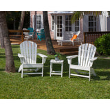 Polywood South Beach Adirondack 3-Piece Set