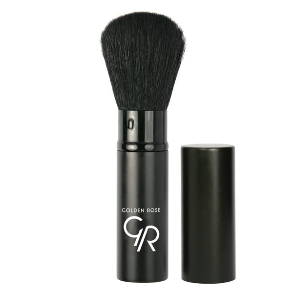 GOLDEN ROSE Retractable Powder Brush