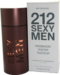 212 Sexy Men By Carolina Herrera Eau de Toilette (TESTER BOX)