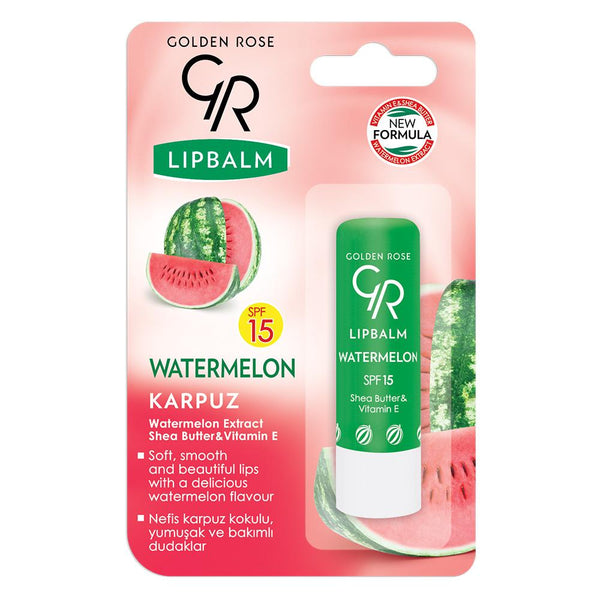 GOLDEN ROSE Lip Balm Watermelon SPF 15