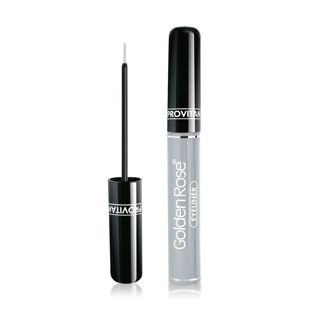 GOLDEN ROSE Volume Silver Eyeliner with Provitamin