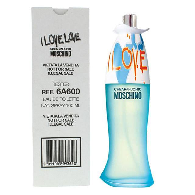I love love By moschino eau de toilette spray (TESTER BOX)
