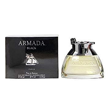 Armada black eau de toilette spray