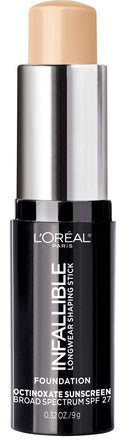 L'oreal infallible longwear shaping stick foundation
