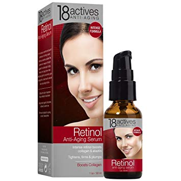 18 actives Anti-aging retinol serum