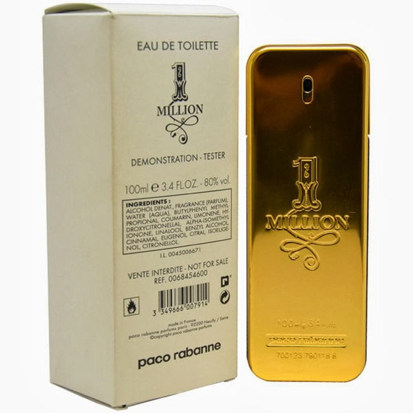 1 Million By Paco Rabanne eau de toilette (TESTER BOX)
