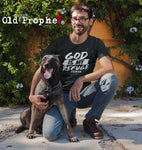 Mens t shirts GOD is my refuge - oldprophet.com