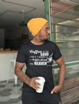 Mens t shirt Coffee shops in heaven - oldprophet.com