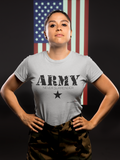 Womens t shirts Army - oldprophet.com